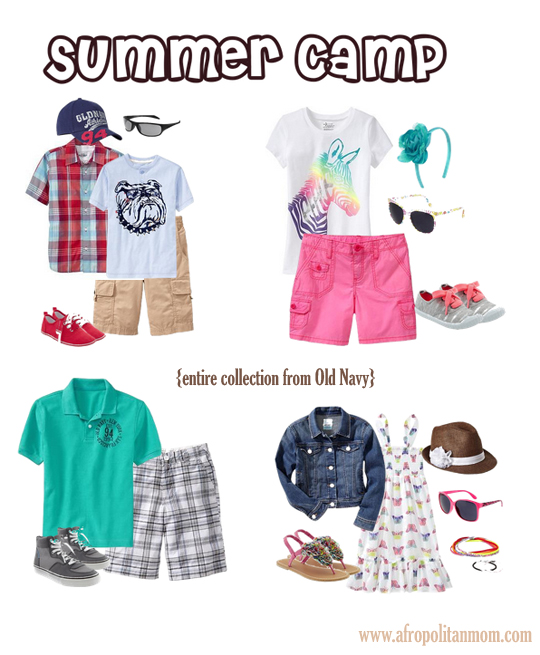 Budget Friendly Summer Camp Fashion for Kids