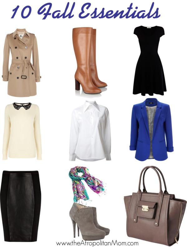 10 fall fashion essentials for women