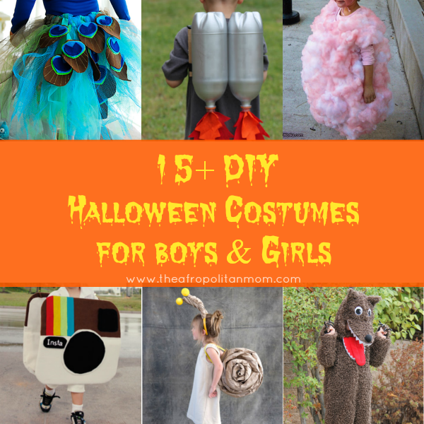 DIY Halloween Costumes for Boys & Girls