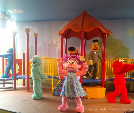 Abby cadabby dancing at sesame place