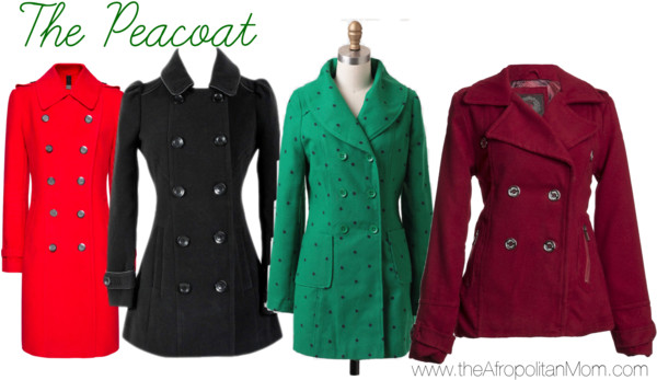 Fall Coat Trends - Peacoats for Fall