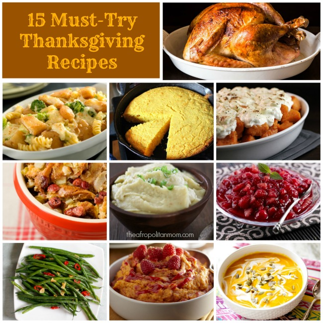15 Must-Try Thanksgiving Recipes