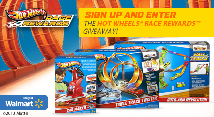 Hot Wheels Race Rewards giveaway