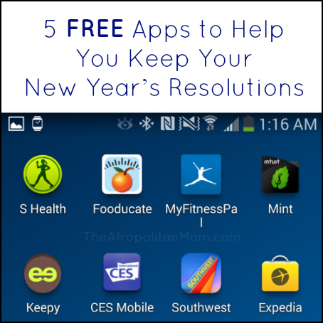 5 FREE Apps to Help You Keep Your New Year's Resolutions