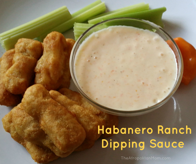 Habanero Ranch Dipping Sauce #ad, #LuvTyson