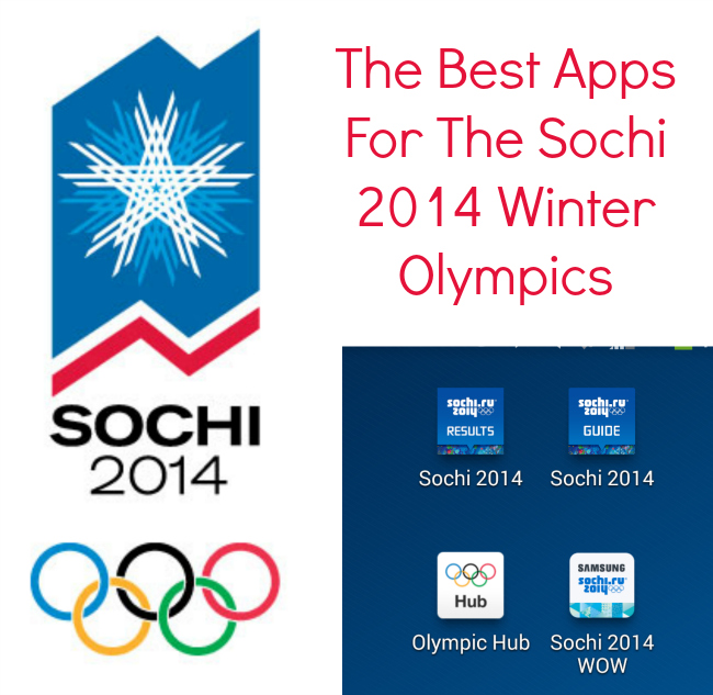 The Best Apps For The Sochi 2014 Winter Olympics