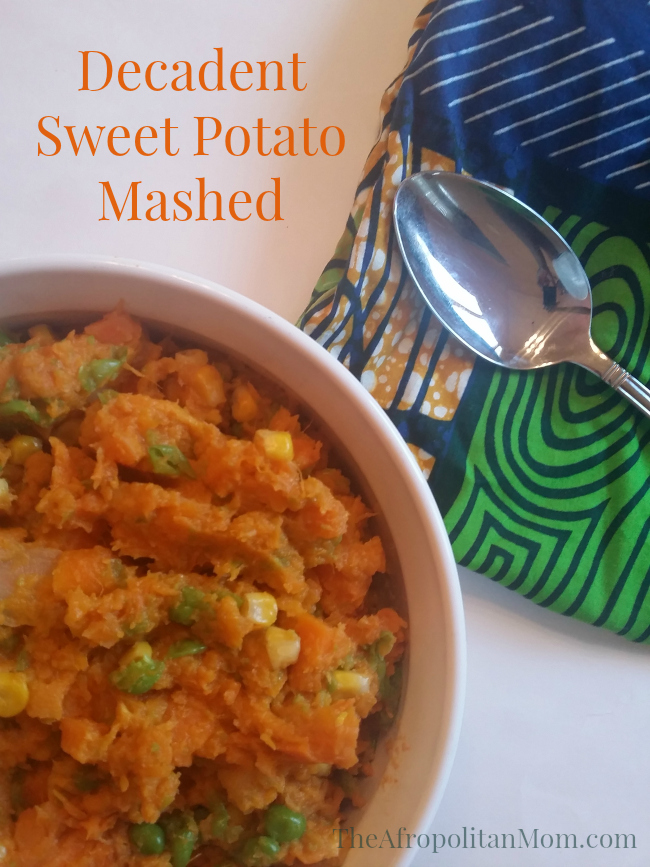 Decadent Sweet Potato Mashed
