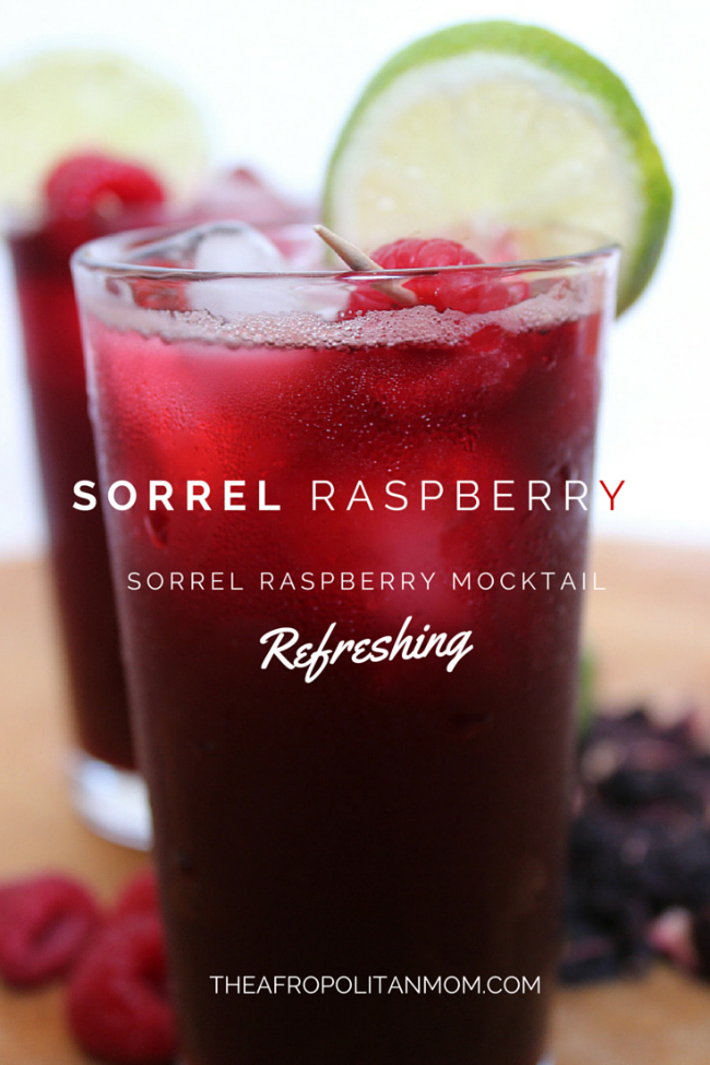 Sorrel-Raspberry Mocktail