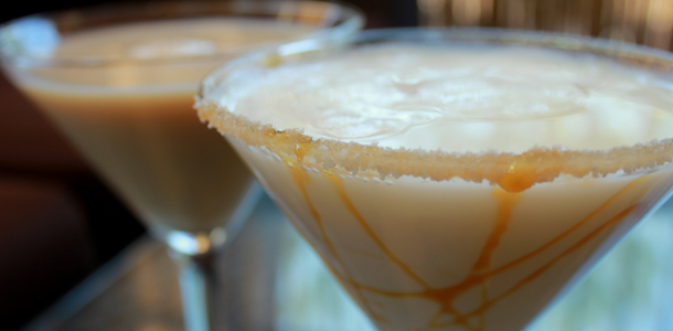 Salted Caramel Coffee Martini