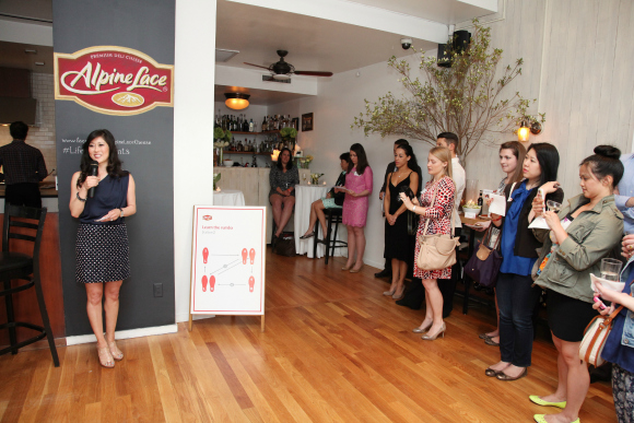 An evening with Kristi Yamaguchi and Alpine Lace Deli Cheese #LifeIngredients