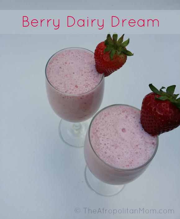 Berry Dairy Dream + Disney Magic of Healthy Living