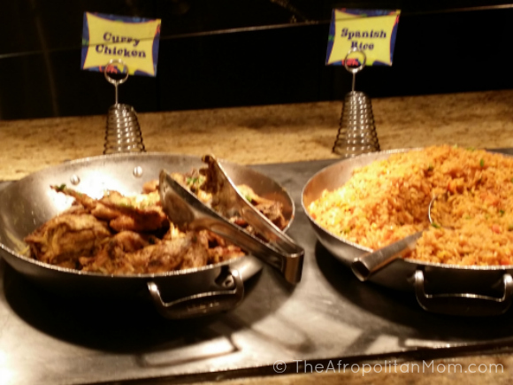 Curry chicken -Spanish rice - Goofy's Kitchen