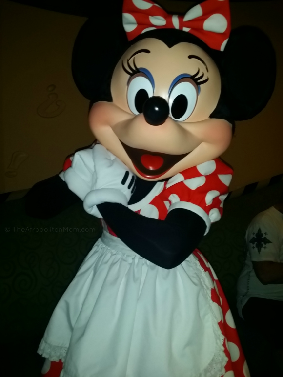 Minnie Mouse- Character Dining at Goofy's Kitchen Disneyland