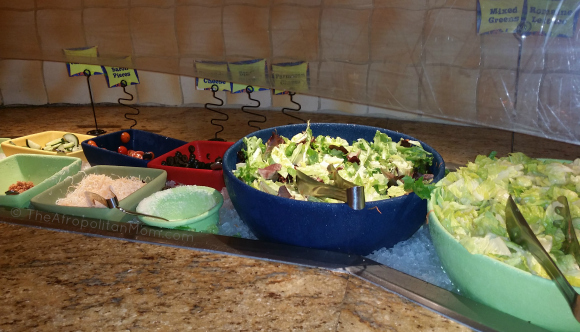 Salad Bar at Goofy's Kitchen - Disneyland