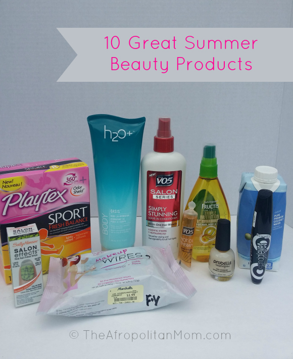 10 Great Summer Beauty Products