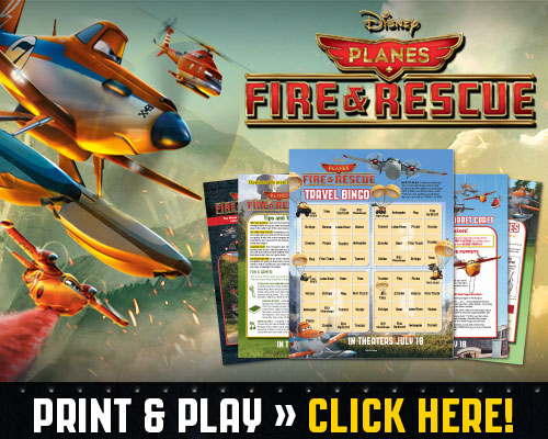 Free Disney Planes Fire & Rescue Educational Activity Guide