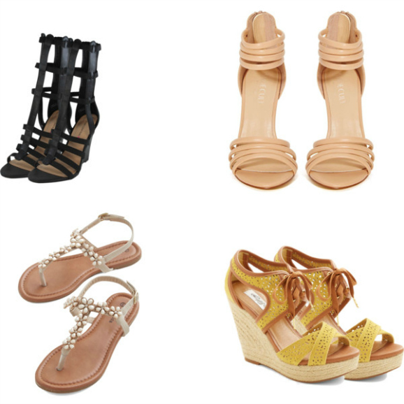 10 Super-Chic Summer Sandals Under $50