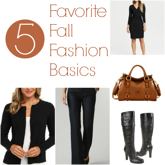 5 Favorite Fall Fashion Basics