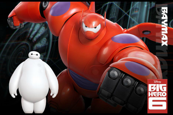 Disney's BIG HERO 6 Trailer + Free Activity Sheet