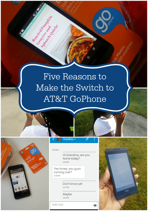 Five Reasons to Make the Switch to AT&T GoPhone #GoPhone
