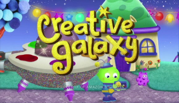 Fostering Creativity with Amazon Creative Galaxy #CreativeGalaxy #AmazonKids
