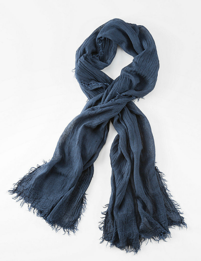 pure jill washed texture scarf
