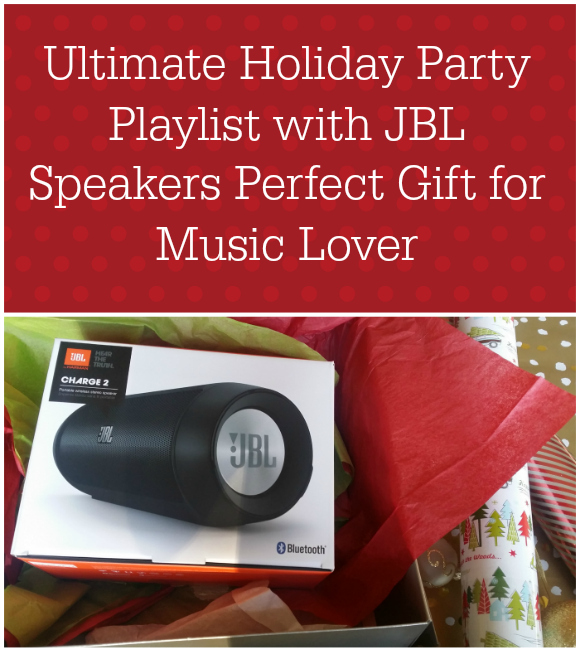 Ultimate Holiday Party Playlist with JBL Speakers Perfect Gift for Music Lover