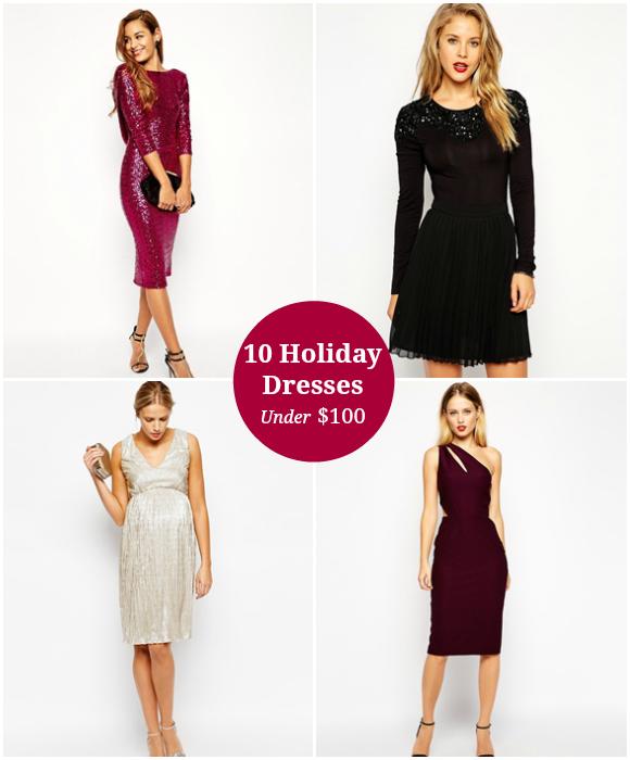10 Holiday Dresses Under $100