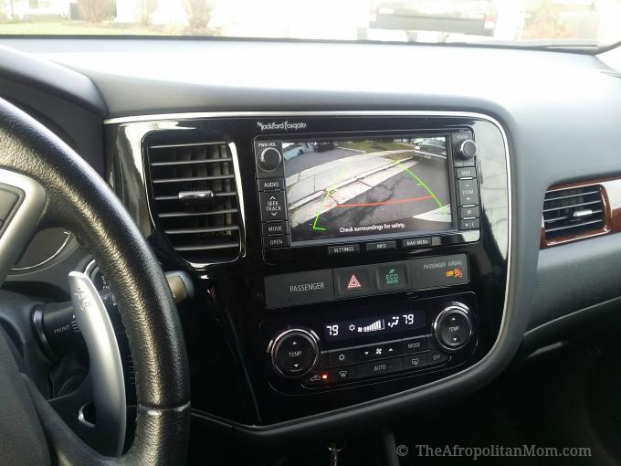 2014 Mitsubishi Outlander Backup Rear View Camera Monitor