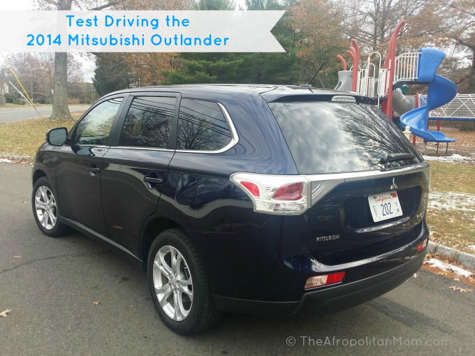 Test Driving the 2014 Mitsubishi Outlander GT