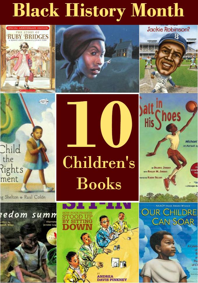 10 Children's Books to Celebrate Black History Month