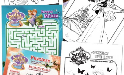 Sofia the First The Curse of Princess Ivy Activity Printables