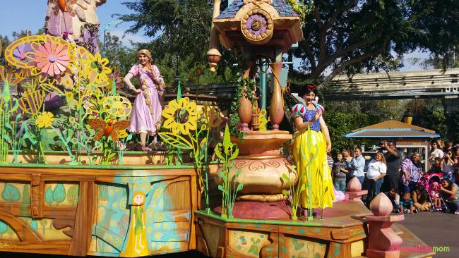 Snow White at the Disneyland Soundsational Parade