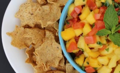 Pineapple & Mango Salsa