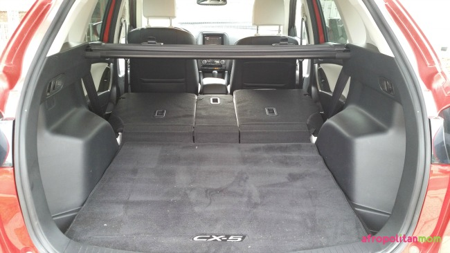 2016 Mazda CX-5 Grand Touring AWD - Trunk Space