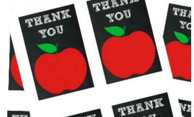Free Teacher Appreciation Printable - Tags - Cards