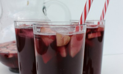 Red Cherry Sangria Mocktail