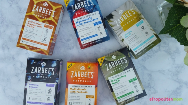 Zarbee's Natural Vitamin Drink Mix