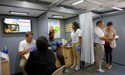 Free Health Screening - Walgreens Wellness Tour