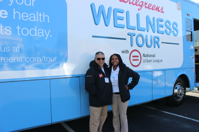 Visiting Walgreens Wellness Tour