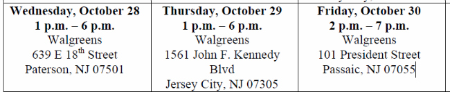 Walgreens Wellness Tour - NY-NJ