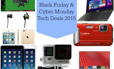 Black Friday & Cyber Monday Tech Deals 2015