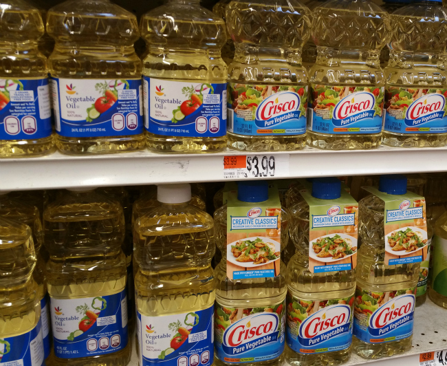 Crisco® pure vegetable oil at stop and shop