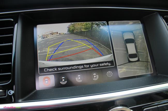 Kia K900 Review Navigation System