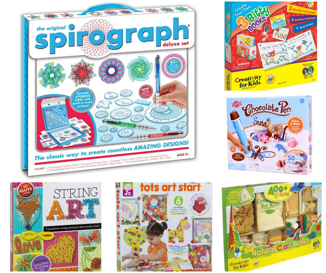 60+ Holiday Gifts for Creative Kids