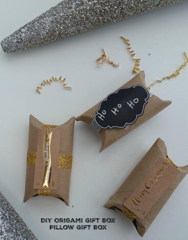 DIY Origami Gift Box - Pillow Gift Box