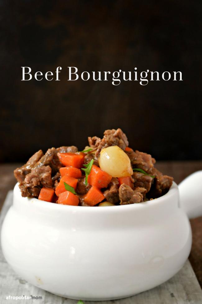 Beef Bourguignon Recipe - Afropolitan Mom