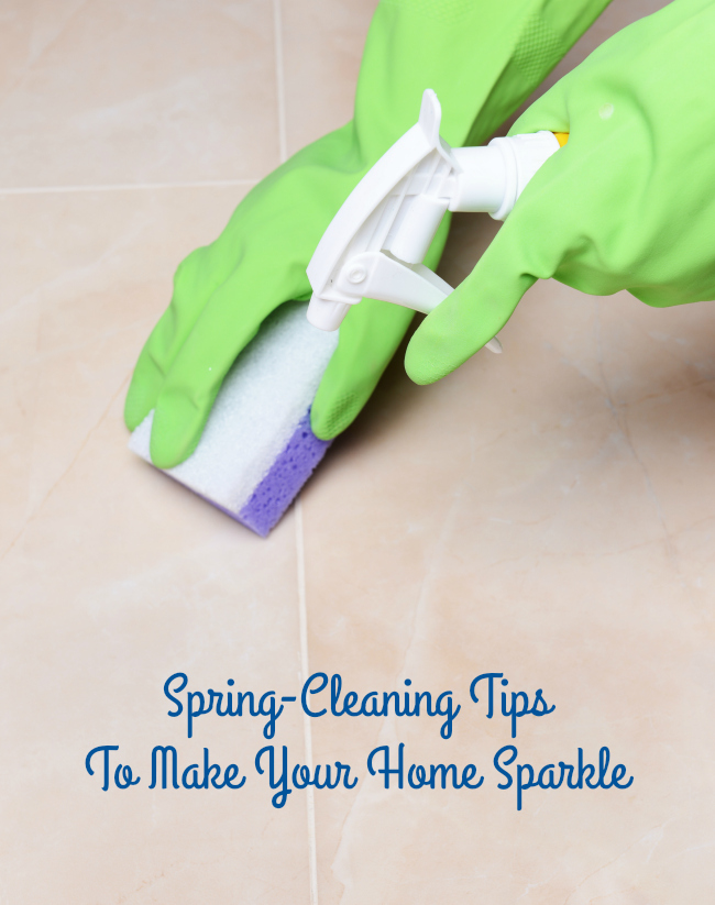 Spring-Cleaning Tips To Make Your Home Sparkle