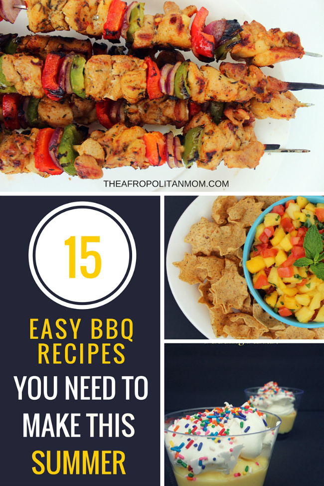 15 Easy BBQ Recipes You Need To Make This Summer
