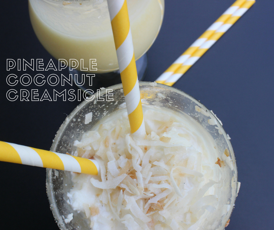 Pineapple Coconut Creamsicle